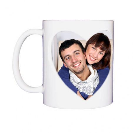 Photo sur tasse : mug magique coeur