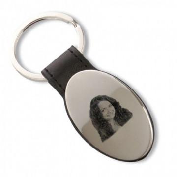 Porte clés métal forme...