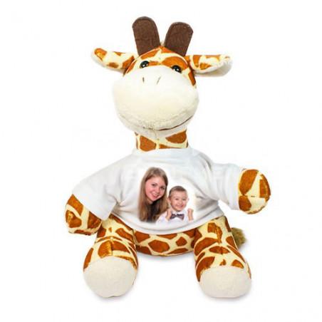 Peluche personnalisée girafe Grace