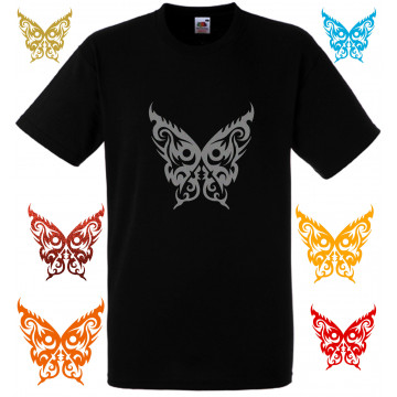 Te shirt tribal noir...