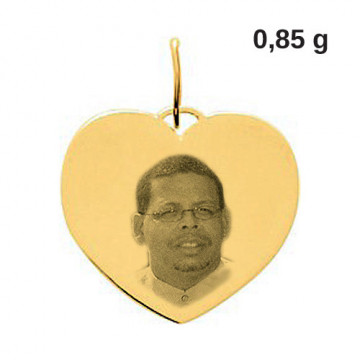Pendentif photo or 18 carats