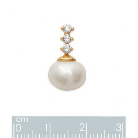 Bijoux perle avec ou sans chaîne