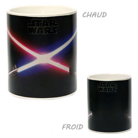 Mug Star Wars laser thermoréactif