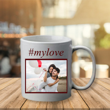 Photo sur tasse Hashtag