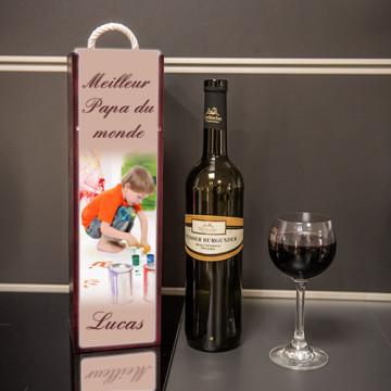 Caisse à vin personnalisée...