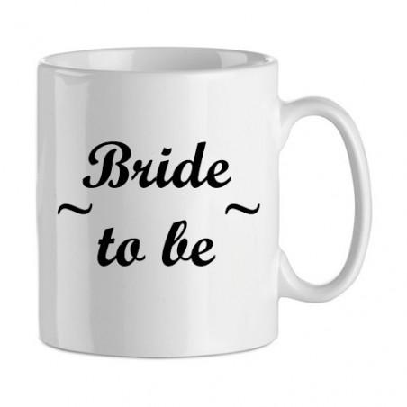 """Idée cadeau evjf : mug """"bride"""""""