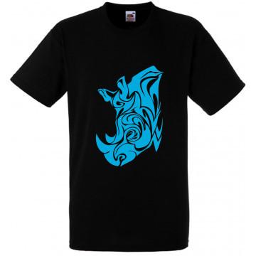 Tee shirt tribal noir...