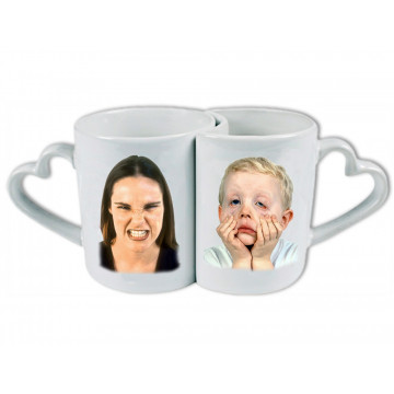 Photo sur tasse DUO