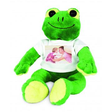 Peluche grenouille...