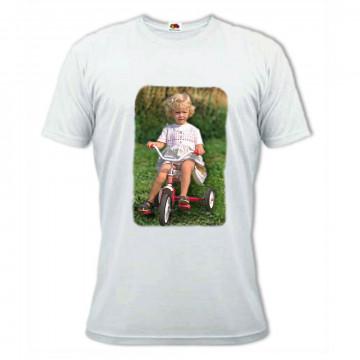 Tee shirt personnalisé blanc