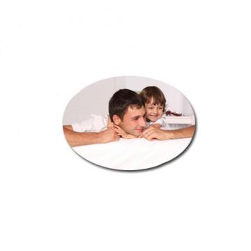 Magnet personnalisé ovale