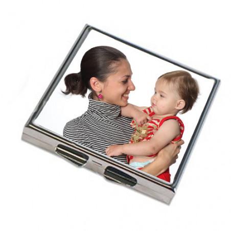 Miroir de sac personnalisé carré