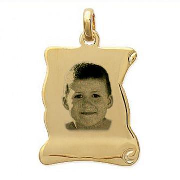"""Médaille gravée """"PARCHEMIN..."""