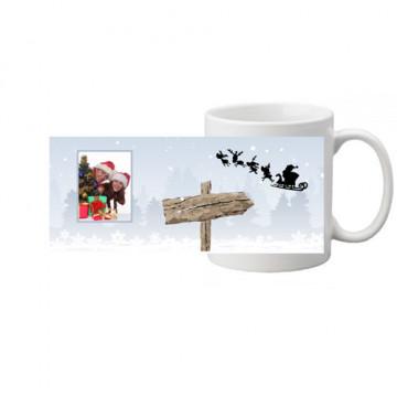 """Photo sur tasse """"Père Noël"""""""